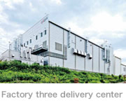 Factory three delivery center